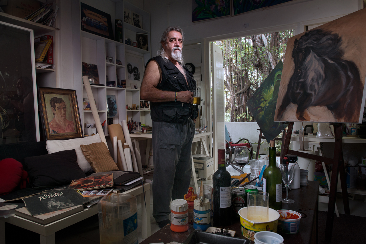 The Artist in his Studio #1