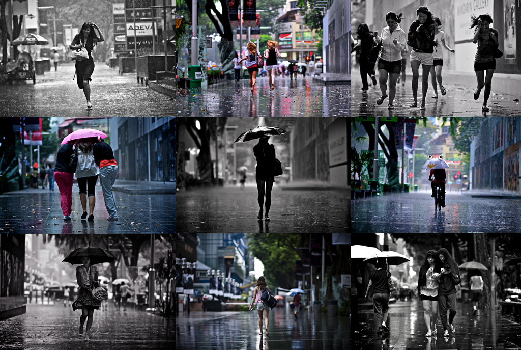 Rain Photographs in Singapore by Danny Santos