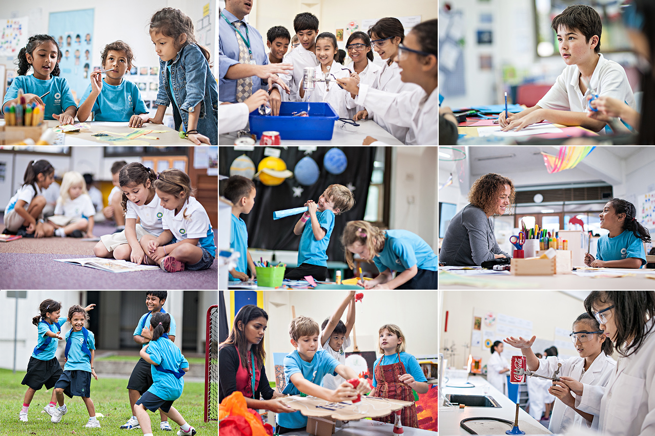 Nexus International School collage