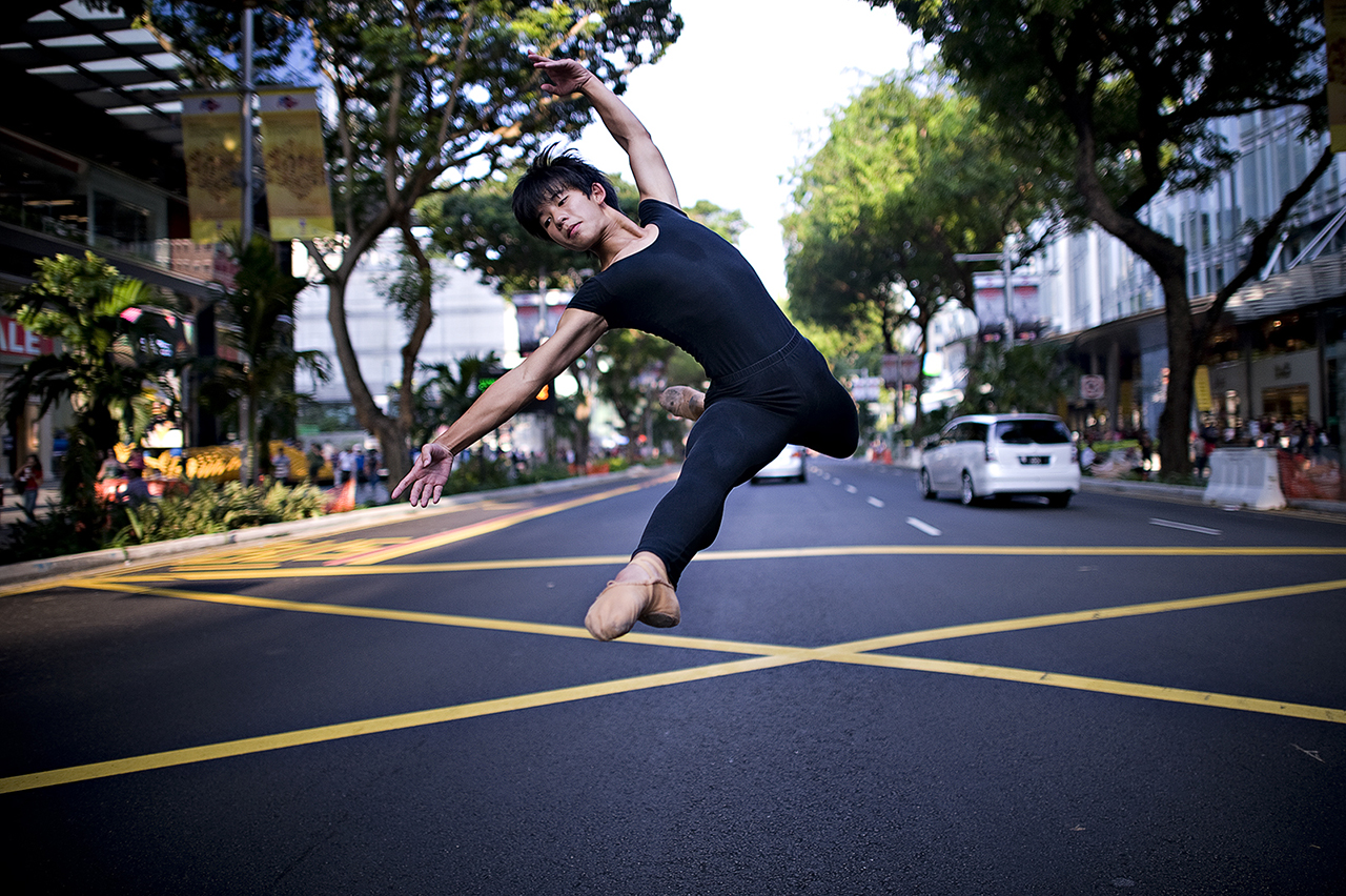Dancer in Street #1