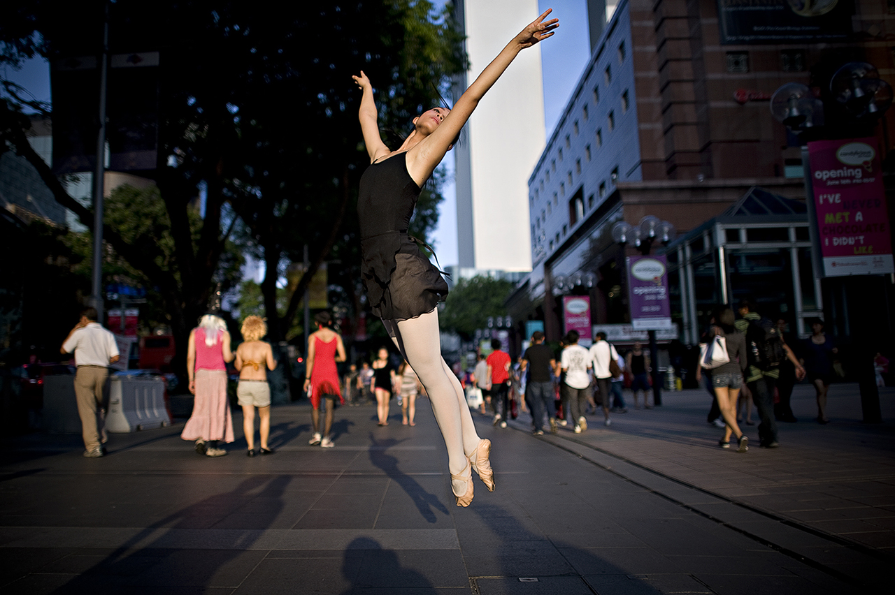 Dancer in Street #3