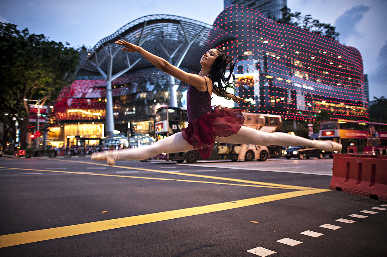 Dancer in Street #2
