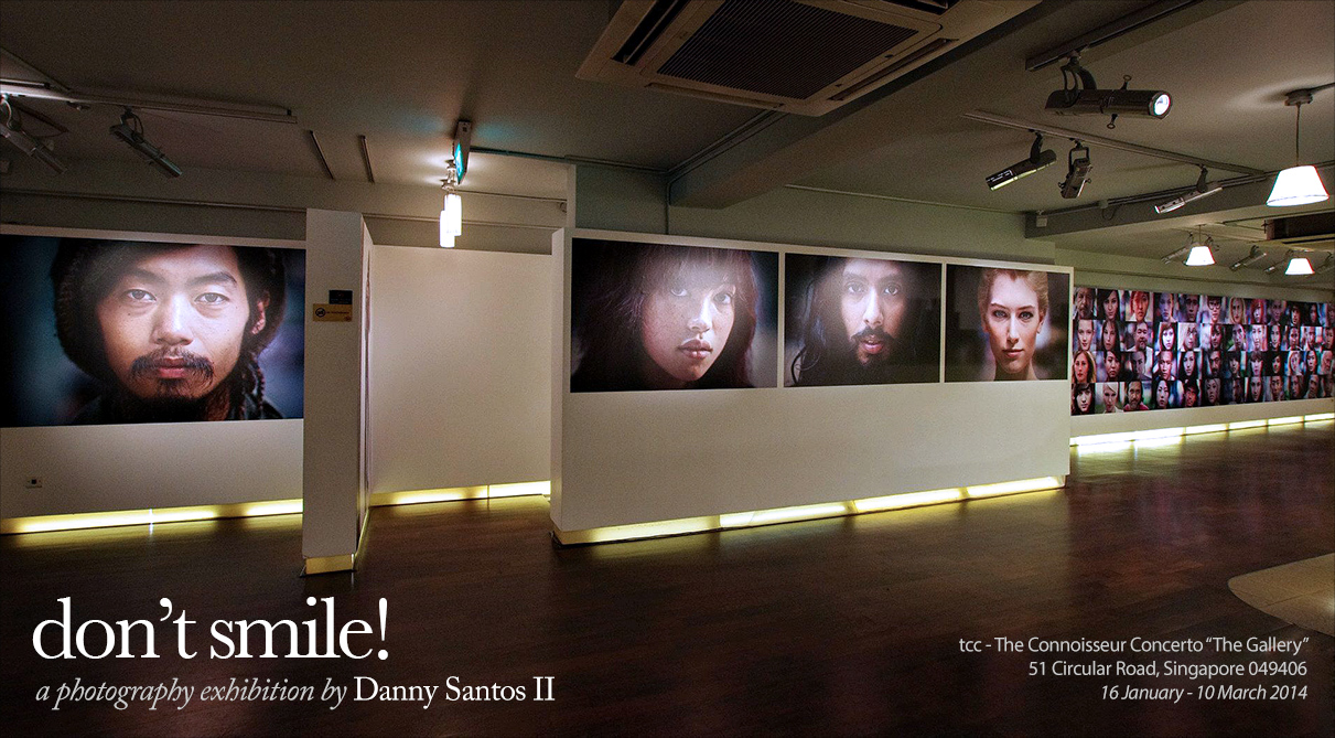 Don't Smile - a photography exhibition by Danny Santos II