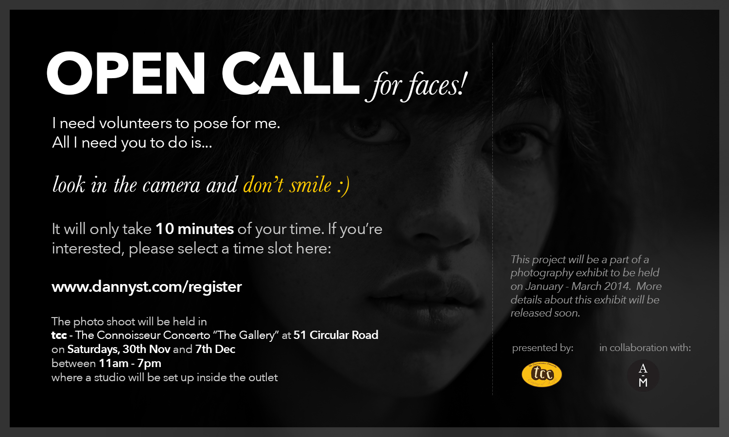 Open Call for Faces