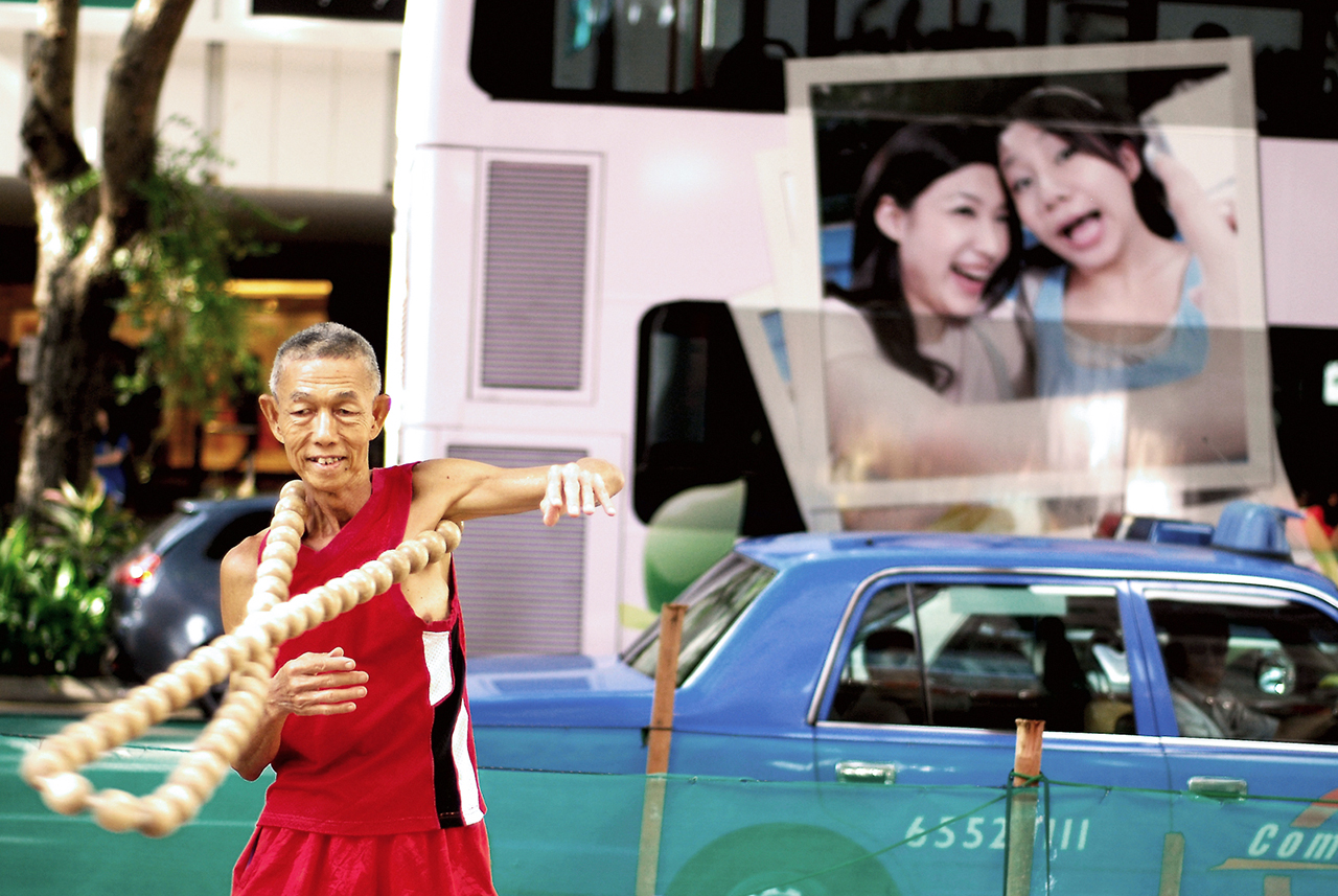 Orchard Road Busker