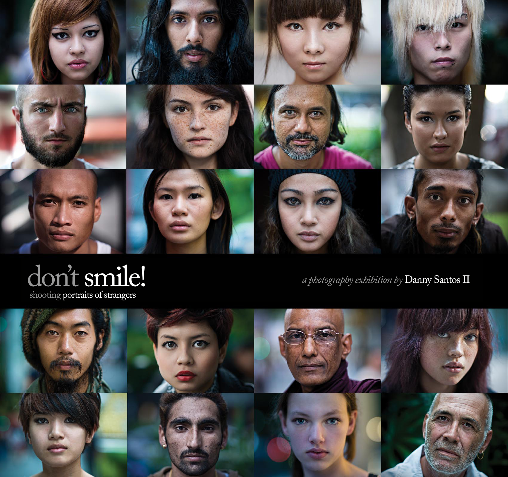 Don't Smile Photography Exhibition by Danny Santos II
