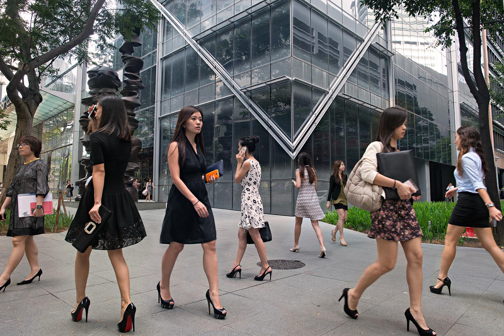 Raffles Place heels